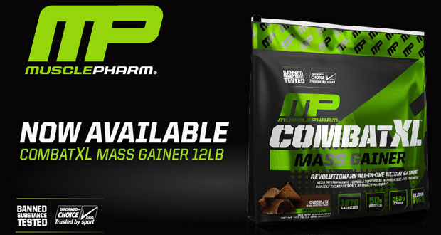 Musclepharm combat xl mass gainer g купить в Киеве и