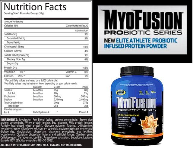 Купить Gaspari Nutrition MyoFusion