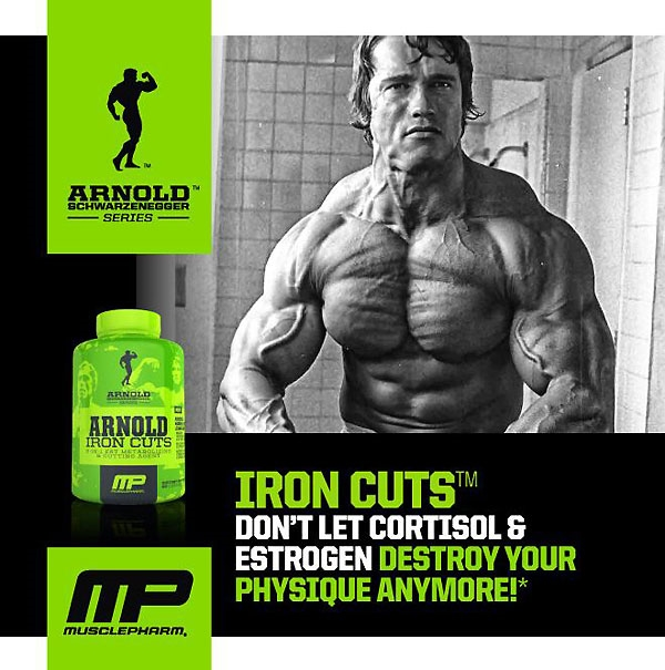 Iron Cuts Arnold Schwarzenegger Series MusclePharm 120 капсул