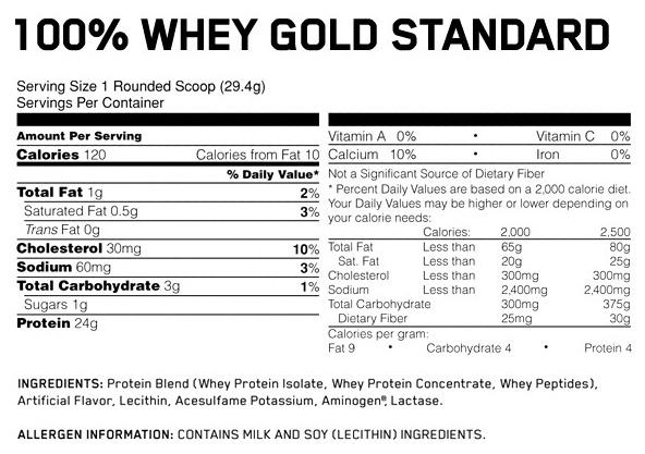 протеин gold standard optimum nutrition купить в