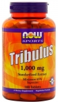 NOW Foods Tribulus 1000 mg 180 таблеток