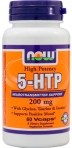 5-HTP NOW 200 mg 60 капсул