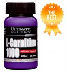 Ultimate Nutrition L-Carnitine 1000 mg 30 таблеток