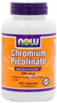 NOW Chromium Picolinate 250 капсул